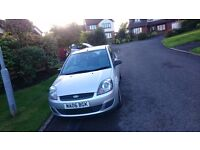 Silver Ford Fiesta 2006! Great motor!