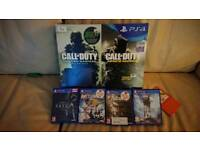 Ps4 slim 1tb boxed with 4 games