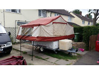 trailer tent camping camper £350:00 ono