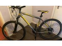 Indigo Hybrid road bike medium size frame adult