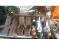 Antique tools from 5 pounds to 90