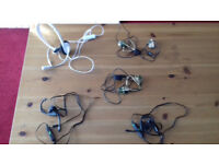 5 XBOX 360 HEADSETS