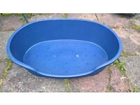 Large Dogs bed | Blue