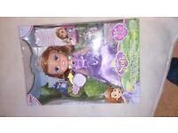 Disney Sofia The First Talking Singing Doll (+Friends) New
