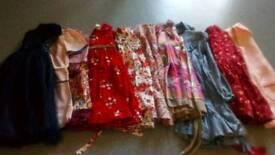 2-4 girls bundle of dresses