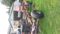 old ford 8 bolt 4x4 chassis god mud build starter