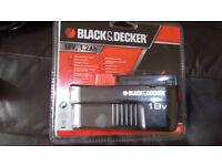 Black&Decker 18 volt battery