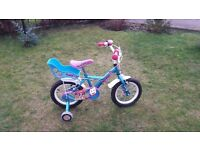 14 inch Apollo Girls bike