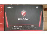 Msi gt80 titan sli gaming laptop