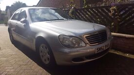 Mercedes S 320 CDI, just serviced, excellent condition