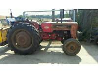 McCormick International B414 1944. Brand new rear tyres. Running and driving as it should be