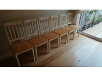 Six chairs FREE