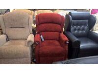Ex-Demo HSL Linton Dual Motor Riser Recliner Chair
