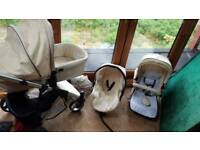 Full travel system Buggy