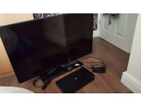 Samsung 40 inch 3d tv with 6x Samsung 3d glasses & Samsung 3d blu ray player