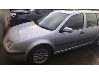 Breaking 2001 VW Golf MK 4 silver 5dr 1.4 call 07590550560 or 07904595916