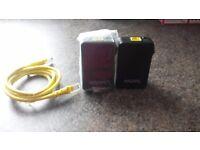 2x talk talk powerline adapters