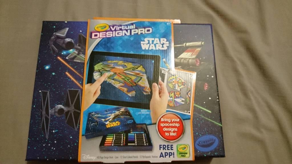 star wars crayola virtual design pro in radyr cardiff gumtree