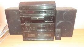 Technics stereo unit with remote control