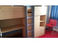 Cabin bed - Beech