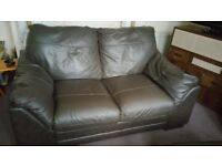 3 + 2 sofa real leather. Very good condition
