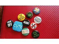 10 student badges
