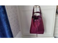 Calvin Klein Plum Drawstring Bag, Brand new, Must go soon as, Contact me soon as, Cheap price at £5