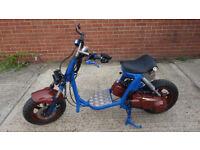 Custom scooter 125cc