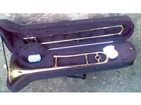 Tenor Trombone with case!