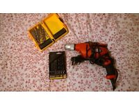 Black and Decker Drill and drill bits (ONLY £20!)