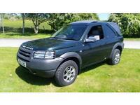 Land Rover Freelander td4 commercial