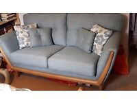 Turquise 2 seater soda/couch - never been used
