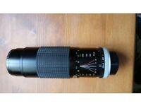 Miranda Macro 75x300mm camera lens