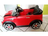 Kids 6v Battery Powered Mini Cooper S