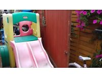 little tikes frame with slide