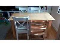 Well used ikea table
