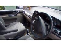 deawoo automatic 6 months mot, 76501 miles 5 doors 2 keys, had new disc&break pads&caliper