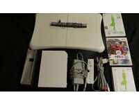 ** NINTENDO WII FIT with BOARD and GAMES **