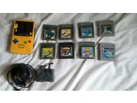 Gameboy Color Yellow Pokémon Limited Edition (mint condition) and Games (£70 ono)