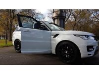 Weddings, Range Rover Sport Hire all day, Special Events,Ball & Proms Chauffer Provided