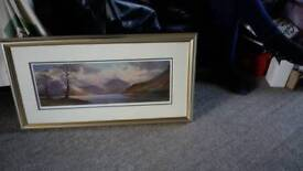 Painting of Buttermere , Lake District