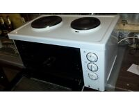 microwave with 2 rings £5 working