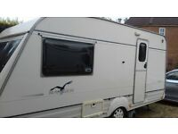2 Berth Touring Caravan. Bailey Ranger 2/450