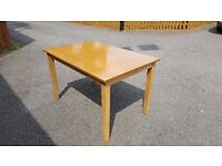 Solid Wood Dining Table 120cm FREE DELIVERY (02093)