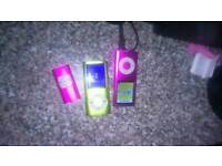 3 mp3 players