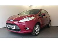 2009 | Ford Fiesta 1.4 Titanium 5 dr | Auto | LOW MILEAGE | PARKING SENSORS | Yr MOT | ALLOYS | CATD