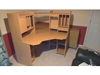 Tvilum-Scanbirk Beech Corner Computer Desk (7060)