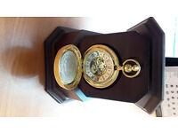 Morgan Silver Dollar Collectors Pocket Watch With Presentation Box