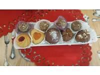 algerian traditional cakes baking