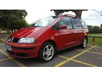 2006 Reg, Seat Alhambra 2.0 Diesel,7 Seats, 1 P/Owner from New , Full S/H incl. 2xTiming Belt change